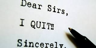 Two ways to quit your job